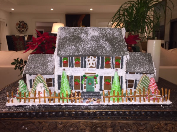 Custom Made Gingerbread House